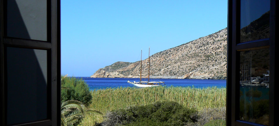 View from hotel Boulis in Sifnos